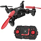 Holy Stone HS190 Foldable Mini Nano RC Drone for Kids Gift Portable Pocket Quadcopter with Altitude Hold 3D Flips and Headless Mode Easy Fly for Beginners
