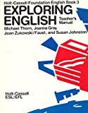 Exploring English, Thorn, M., 0030629861