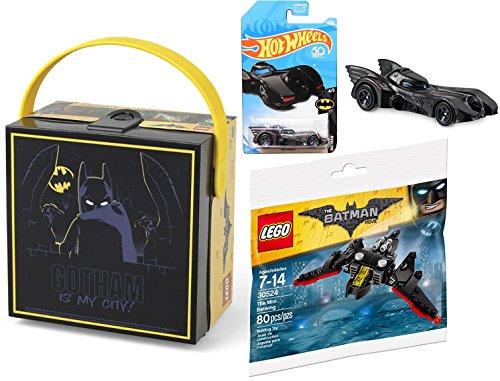 Hot Wheels 2018 Batmobile + DC Comics Batman