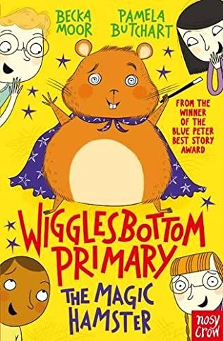 book cover of The Magic Hamster
