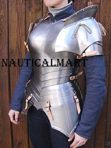 Medieval Armor Renaissance Breastplate Woman Suit LARP SCA Costume