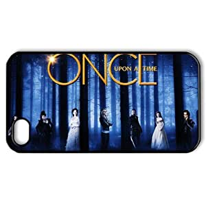 CTSLR TV Show Once Upon A Time Hard Case Cover Skin for Apple iPhone 4/4s- 1 Pack - Black/White - 5- Perfect Gift for Christmas