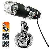 EchoAcc® 50-500X 5MP USB Digital Microscope Endoscope Magnifier Camera 8 LED