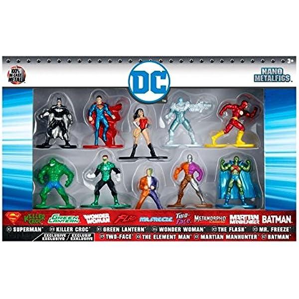 Jada - Nano Metalfig DC Comics 10 Unidades: Amazon.es: Juguetes y juegos