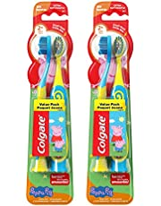 Colgate Kids Extra Soft Toothbrush with Suction Cup, PJ Masks