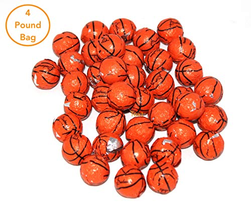 Chocolate Basketballs Made In The USA Bulk Candy