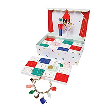 Christmas Advent Calendar for Kids Nutcracker Jewelry Box