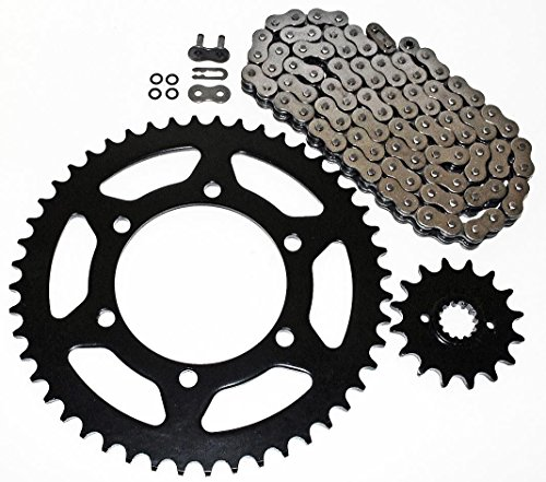 Ex250 Sprocket (Kawasaki EX250 Ninja 250R O Ring Chain and Sprocket 14/45 520X106)
