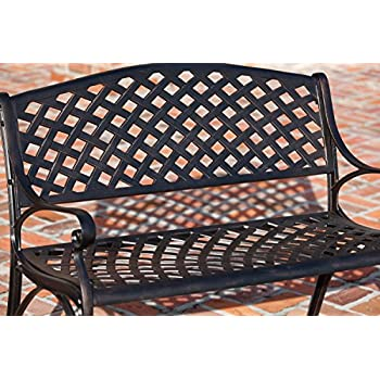 Patio Sense Aluminum Bench