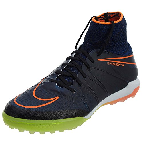 Nike TF Proximo Shoes Football Blue Black Hypervenomx qBZnqxEz