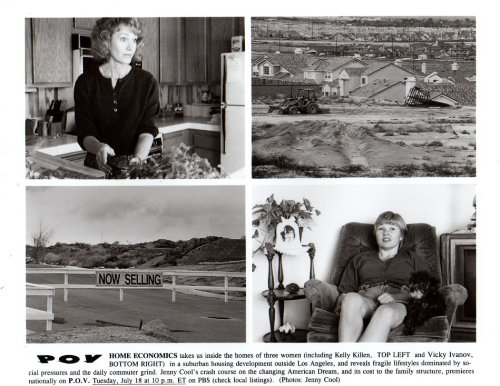 (Suburban Housing Documentary Original 8x10 photo #Z2084)