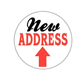 New address envelope seals 1 2 weve moved stickers 144 stickers moving
