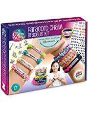 Personalized Charm Friendship Bracelet Making Kit: Best DIY Paracord Craft Set for Girls, Teens & Children age 7-14. Make Your Own Fashion Jewelry for Birthday, Travel Activity, Camps, Art Projects