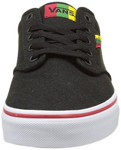 Atwood Unisex Sneakers Black Rasta Red Vans Shoes Red wq6wa