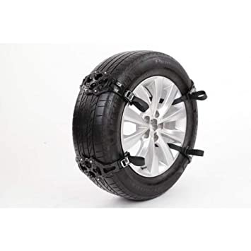 GSYDXL Tyre Peaks Cadenas de Cadenas de Nieve de plástico Nieve para Ruedas de automóviles Cadena de Llantas de neumáticos de Invierno Protección de ...