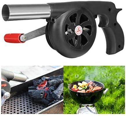 Ventilador manual para barbacoa o fuegos y pícnics al aire libre ...