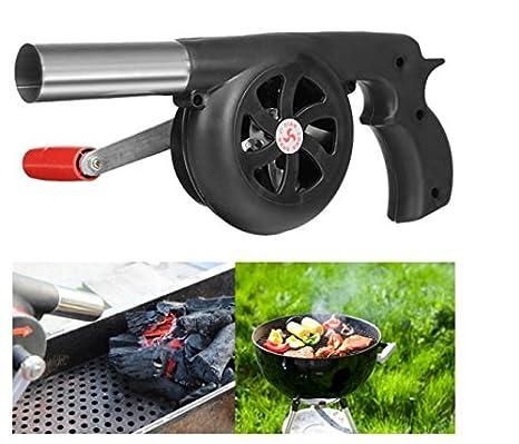 Ventilador manual para barbacoa o fuegos y pícnics al aire libre, de FireAngels