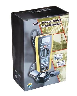 Ruby Electronics LA-1017 Sun Power Solar Energy Sunlight Meter with DMM Digital Multimeter