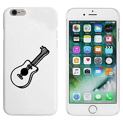 Weiß 'Akustische Gitarre' Hülle für iPhone 6 u. 6s (MC00088357)