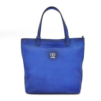 Pratesi Monterchi Sac à main - B461 Bruce (Bleu électrique) 4aHXKUw