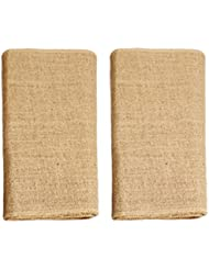 Ivankee 2 Pack Burplap Table Runners,12 X 108 Inches,Natural Jute Hessian Table Runner,Perfect For Rustic Party & Events