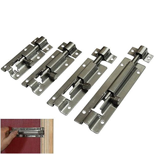 SIMPLE SLIDE BOLT LOCK BATHROOM TOILET SHED DOOR LOCK/CATCH/LATCH SMALL TO LARGE Fusion (TM) (63mm) Amazon.co.uk DIY \u0026 Tools  sc 1 st  Amazon UK & SIMPLE SLIDE BOLT LOCK BATHROOM TOILET SHED DOOR LOCK/CATCH/LATCH ...