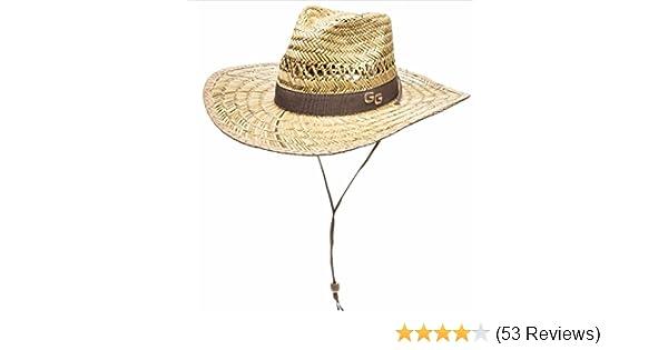 3b36390072b4e Amazon.com  Glacier Glove Sonora Straw Sun Hat  Sports   Outdoors