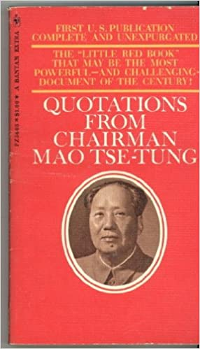 Quotations From Chairman Mao Tse Tung Little Red Book