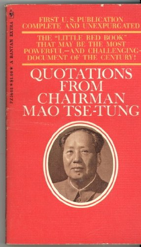 Quotations from Chairman Mao (LIttle Red Book)