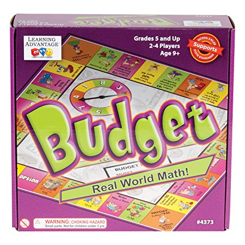 (Learning Advantage Budget - Budgeting Game for Kids - Teach Money, Math and Critical Thinking)