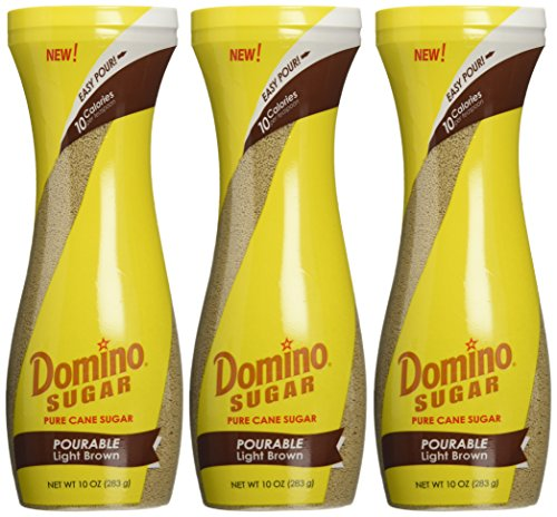 Dominoes Pack (Domino Brown Sugar Easy Pourable Light Brown 10 Oz (3 Pack))