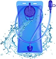 Hydration Bladder 2L Leak Proof Water Reservoir,BPA Free Hydration Pack Replacement, Hydration Bag Pack Hiking