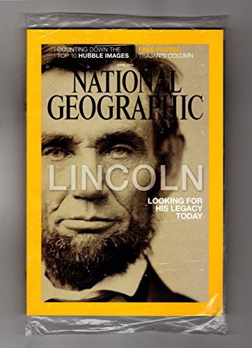 National Geographic   April  2015 With Trajans Column Poster Supplement  Abraham Lincoln Legacy And Gallery  Hubble Telecsope Greatest Hits  Coal Fuels Indias Insurgency  Pine Beetle Scourge  Trajans Amazing Column  Argentine Identities