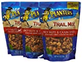 Planters Trail Mix, Spicy Nuts & Cajun Sticks, 6 oz, 3 pk