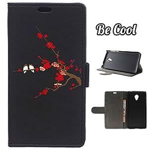 BeCool® - Funda carcasa tipo Libro para Meizu m2 mini protege tu Smartphone ya que se adapta a la perfección, tiene Función Soporte, ranuras para tus tarjetas y billetes sin olvidar nuestro exclusivo diseño