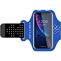 Trendy generous super cute 6-inch Sports Mobile Phone Armbag Multi-Function Waterproof Running Cycling Armband,Size:4-6…