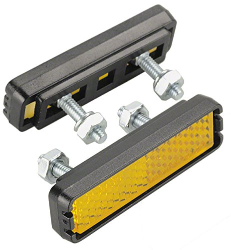 Pedal Reflector - Wellgo Bolt-on Pedal Reflector Set Pedal Reflectors