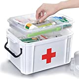 Extra large household Dual-layer first aid kit multifunctional medicine box/First aid kit/Storage Boxes & Bins