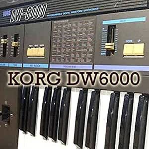 KORG DW-6000 Original Sound Editor & Library on CD