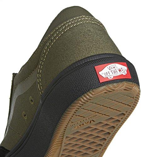 Bestelwagens - Mens Gilbert Crockett Skate Schoenen Klimop Groen / Zwart