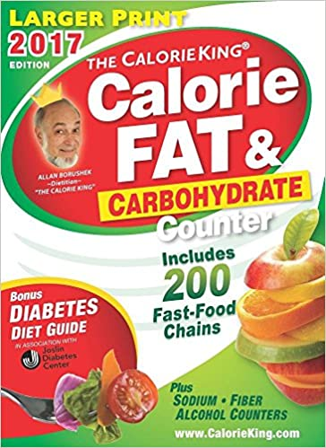 the calorieking calorie fat carbohydrate counter 2017 larger