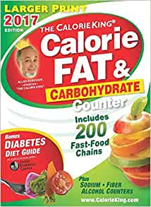 The Calorieking Calorie Fat Amp Carbohydrate Counter 2017