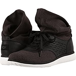 UGG Women's, Islay Lace up Sneakers Black 10 M