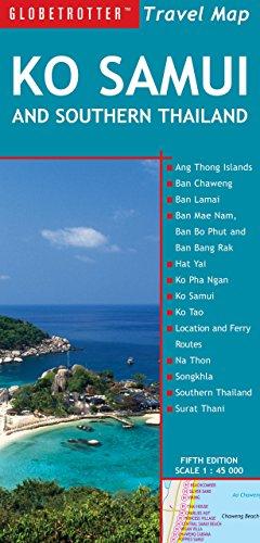 Travel Map Ko Samui & Southern Thailand (Globetrotter Travel Map) - Globetrotter Travel Map