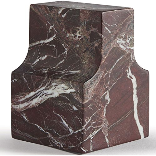 ATIPICO 7795 Classico Coll. Paperweight,Levanto Red Marble by Atipico