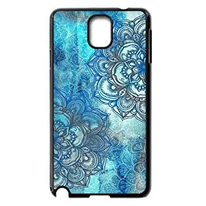 Teal Tribal Brand New Cover Case for Samsung Galaxy Note 3 N9000,diy case cover dagongsi613870