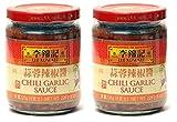 Lee Kum Kee Chili Garlic Sauce, 8oz (Pack of 2)