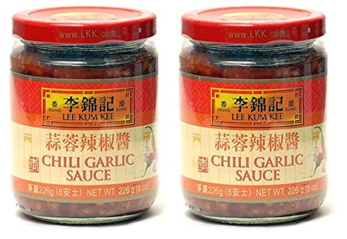 Lee Kum Kee Chili Garlic Sauce, 8oz (Pack of - Asian Garlic Sauce