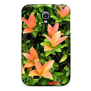 Shock-dirt Proof Beautiful Leaves Case Cover For Galaxy S4