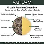 VAHDAM, Himalayan Green Tea Leaves (50+ Cups) I 100% NATURAL Green Tea I POWERFUL ANTIOXIDANTS I Best for Detox I… 19 SATISFACTION GUARANTEED - 100% MONEYBACK GUARANTEE - If you don't like the tea, we will issue a 100% REFUND immediately. No Questions Asked.